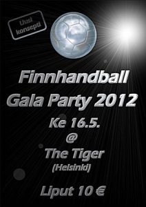 Finnhandball Gala Party 2012