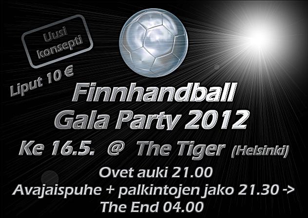 Finnhandball Gala Party 2012