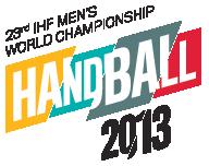 Käsipallon MM-kisat 11.-27.1.2013 Espanjassa