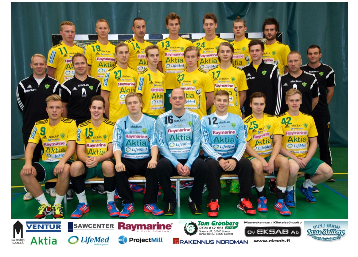 SIF:n liigajoukkue 2014-2015